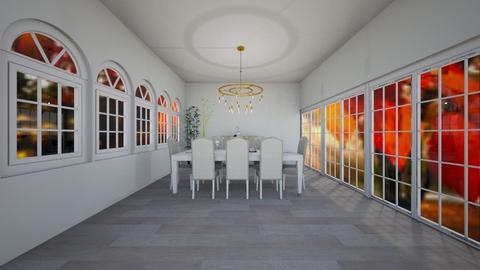 simple dining - Dining room - by Yana Kutsak