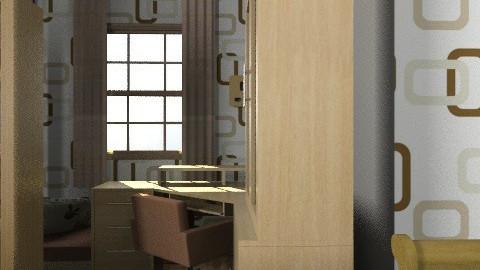 eniko'snewroom - Vintage - Bedroom - by enikovas