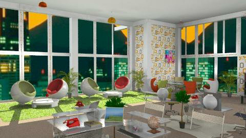 design office - Eclectic - Office - by leendave