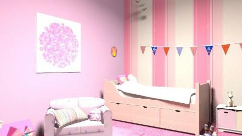 Little Girls Bedroom (; - Bedroom - by Emiliee