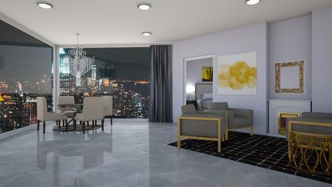 Manhattan view - by hannah136