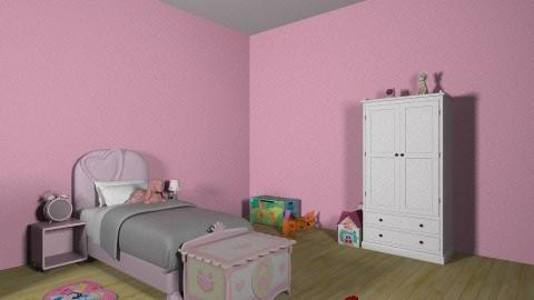 Girls Toy Land - Feminine - Kids room - by doglover236