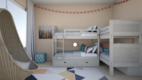 Colour Splash - Kids room - by emi23