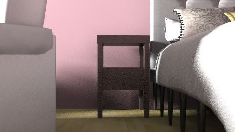 Stormy pink! - Feminine - Bedroom - by sams4444