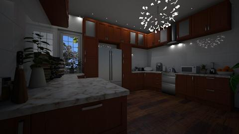 family house - Kitchen - by joja12345678910