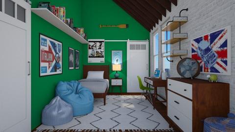 Millenial - Bedroom - by lauren_murphy