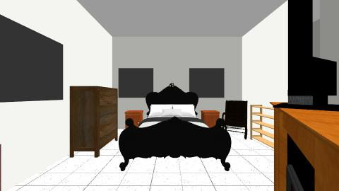 Bedroom bath and closet - Country - Bedroom - by debbiechastain