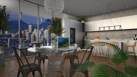 Urban Greenery - Eclectic - Kitchen - by Theadora