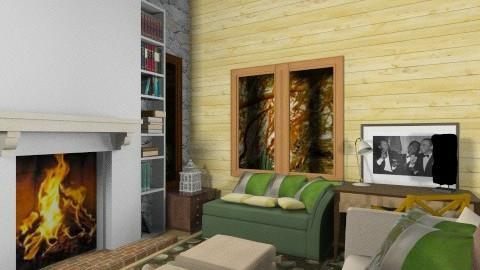 Casa del bosque1 - Vintage - by Gabylez