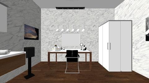 bathroom - Modern - Bathroom - by Lacismiller