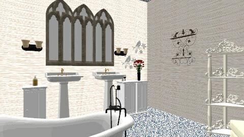 Ghotic - Eclectic - Bathroom - by Evihun