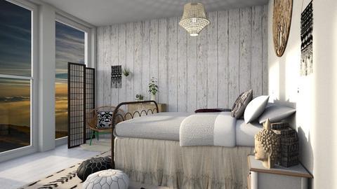 Bohemian Design  - Living room - by Yate