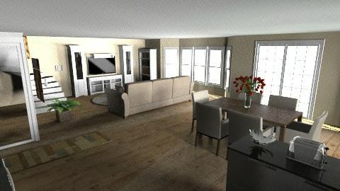 Small Chalet - Modern - Living room - by lbarriosch