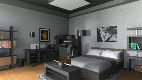 my room 3 - Glamour - Bedroom - by jhustin