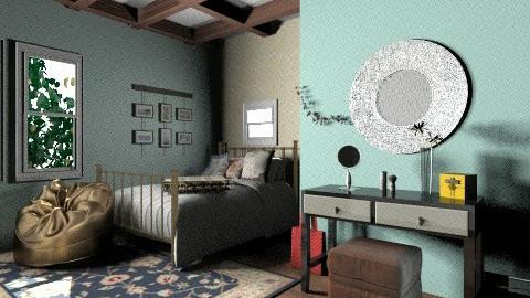 teen bedroom - Bedroom - by natalie_biggane145