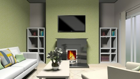bright living room - Rustic - Living room - by dancergirl1243