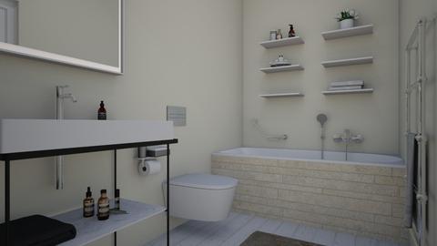 Garden template_Bath - Bathroom - by Laurika