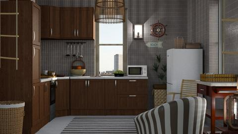 nautical kitchen - Kitchen - by ClaraBart