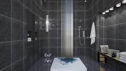 M_ Black - Bathroom - by milyca8