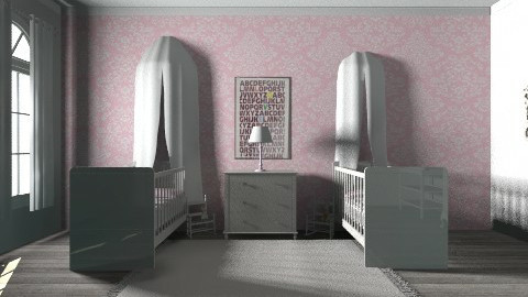 Cottage Twin Baby Room - by derers_brown