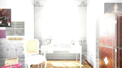 StudioDesignInterior - Glamour - Office - by leandrakatelyn