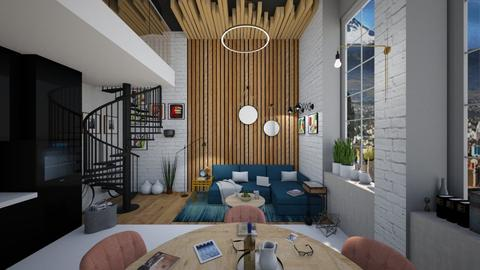 UP - Living room - by bsk Interiordesign