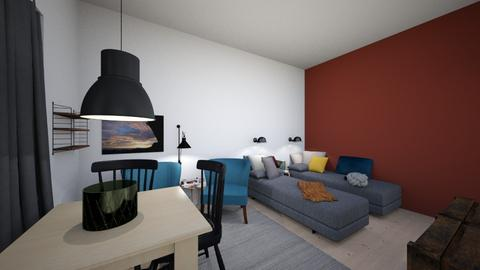 Tampere - Living room - by Essi_eames