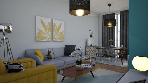 Living Room Goals - Retro - Living room - by JessicaB95