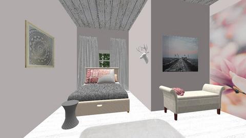 Teen Girl Bedroom - by figuresk8cre8