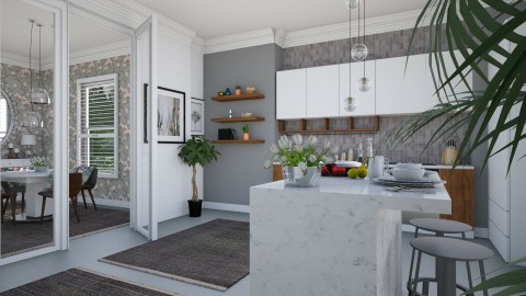 Kitchen YOO_ Diner  - Modern - Kitchen - by janip