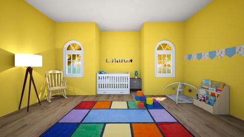 nursery - Kids room - by isabellacurtis123