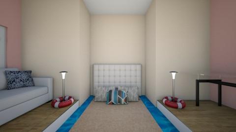seaside no bed room - Bedroom - by Acars0036