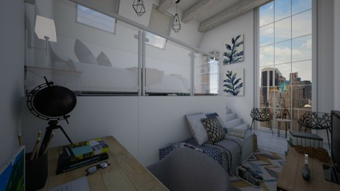 Loft Bedroom - Modern - Bedroom - by christoforos