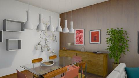 modern tate - Living room - by Sunshinedriver
