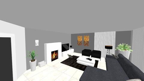 Woonkamer nieuwe huis - Modern - Living room - by Sandra_1972