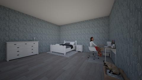 Cozy Bedroom - Bedroom - by Venus De Milo