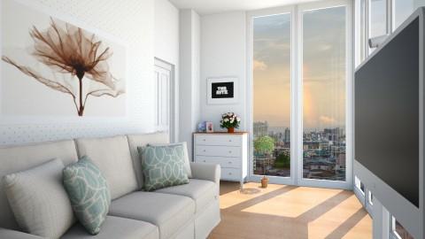 WHITE ROOM - Living room - by Monica V Seke