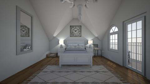 Frenchie - Country - Bedroom - by Avery McCaffrey