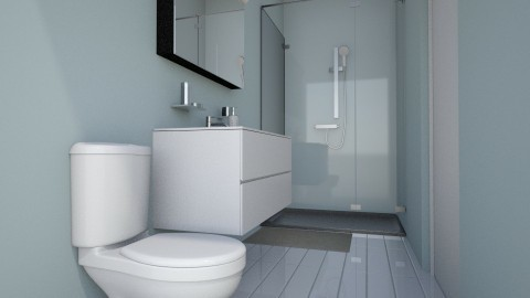 Apartment Bathroom - Classic - Bathroom - by millerfam