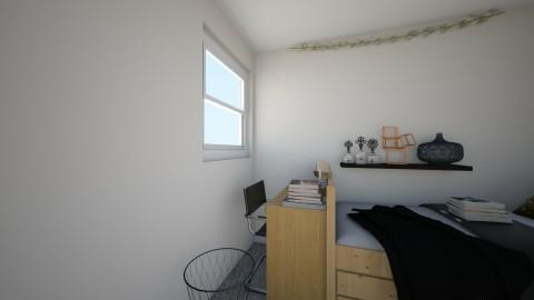 dorm - Bedroom - by EliseClare