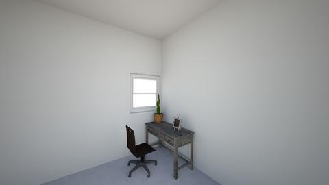 3d view2 - Office - by Ebbiwebs73