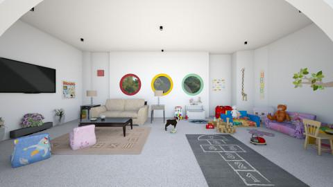 Playful Room - Modern - Kids room - by Irishrose58
