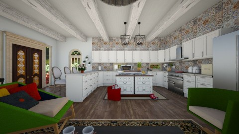 Kitchen of Delights - Eclectic - Kitchen - by deleted_1524503933_Architectural