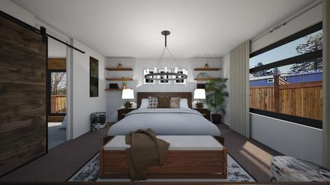 Jackson Master Bedroom 2 - Bedroom - by louisdhe
