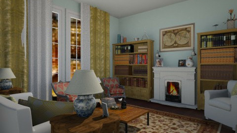 Chasing life living room - Eclectic - Living room - by goldengirllover