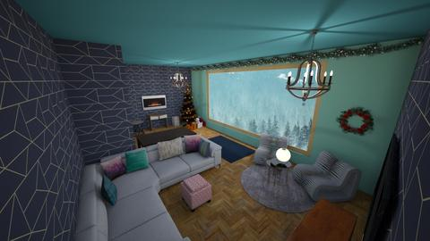 Christmas hills lodge - Living room - by roommaker123