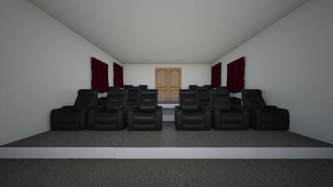 movie room - by tbeals