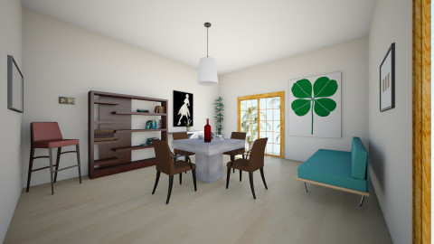 cool - Dining room - by Emelyn Cristal Rosario
