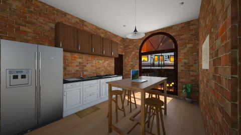 Chicago Apartment - Modern - Kitchen - by andiavie