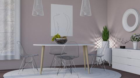 M_ Wire - Dining room - by milyca8